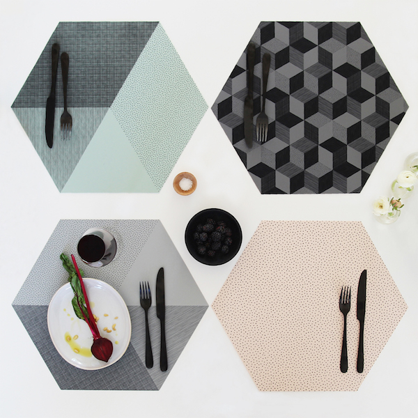 BY MAY placemats from Koti & Co